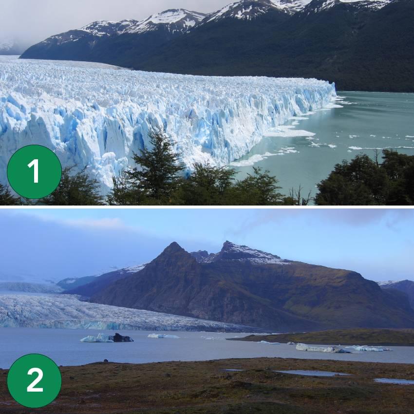 Glaciares-vs-Vatnajokull