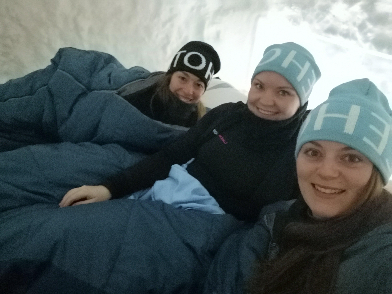 Liggen in ijskamer