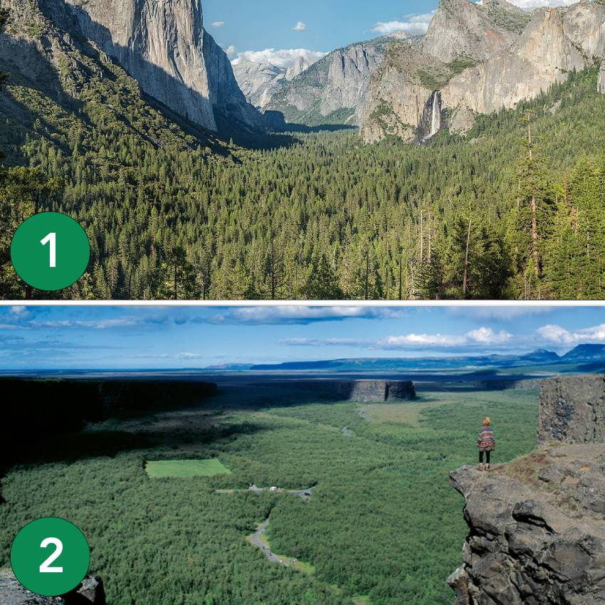 Yosemite-vs-Asbyrgi
